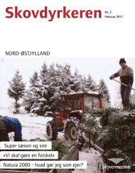 NORD-ØSTJYLLAND Super sæson og sne - Skovdyrkerforeningen