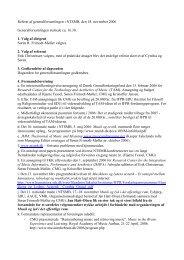 Referat af generalforsamlingen i NTSMB, den 18. november 2006 ...