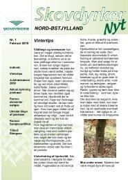 NORD-ØSTJYLLAND - Skovdyrkerforeningen
