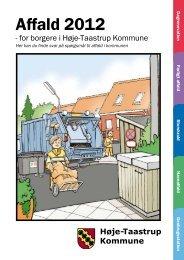 Affald 2012.pdf - Høje-Taastrup Kommune