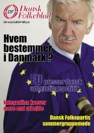 Hvem bestemmer i Danmark ? - Dansk Folkeparti