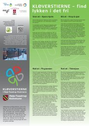 Download kort og folder med rutebeskrivelser for ... - Friluftsrådet