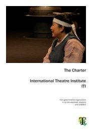 The Charter International Theatre Institute ITI