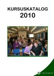 KURSUSKATALOG 2010 - Dansk Folkehjælp