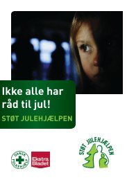 Ikke alle har råd til jul! STØT JULEHJÆLPEN - Dansk Folkehjælp