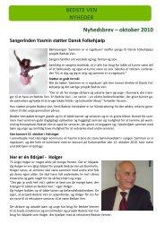 Bedste Ven Nyt oktober 2010 - Dansk Folkehjælp
