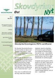 Skovdyrkerforeningerne PEFC-certificeret - Skovdyrkerforeningen