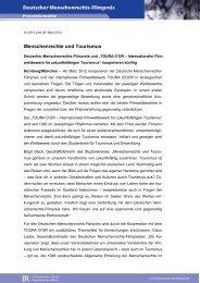 Menschenrechte und Tourismus - Deutscher Menschenrechts ...