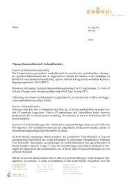 Notat Tilgang til markedskontrol i forhandlerleddet ... - DI Handel