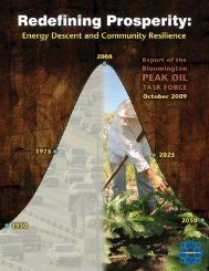 Redefining Prosperity: Energy Descent and Community Resilience