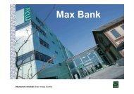 Max Bank - Lasse Ahm Consult