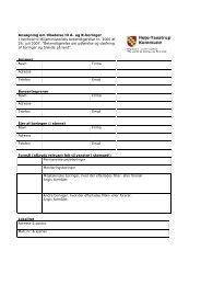 Ansøgning om tilladelse til A- og B-boringer I henhold til ...
