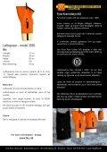 Løfteposer - model 2651 - Fyns Kran Udstyr A/S - Page 2