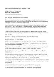 Læs Peter Skaarups årsmødetale ved at trykke her. - Dansk Folkeparti