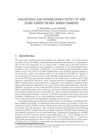 magnetism and superconductivity in the rare earth nickel borocarbides
