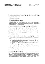 Initiativer på udlændingeområdet, 2004 - Dansk Folkeparti