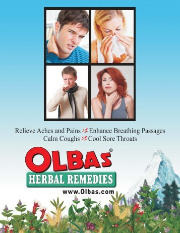 Naturally! - Olbas Herbal Remedies