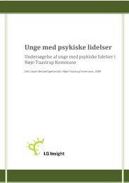 Unge med psykiske lidelser - LG insight