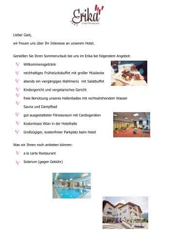 Sommer2013 - Hotel Erika