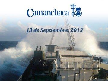Presentación del Gerente General Resultados 1H ... - Camanchaca