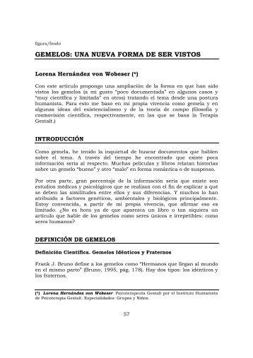Gemelos.Una nueva forma de ser vistos.pdf - gestaltnet