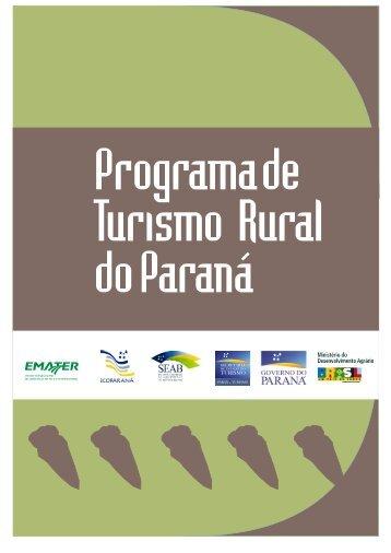 Programa de Turismo Rural no Paraná - IDESTUR