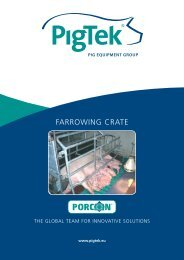 FARROWING CRATE - Farmi Tilatech Oy