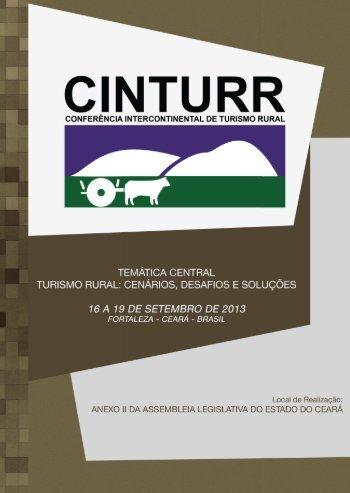 Conferência Intercontinental de Turismo Rural - IDESTUR