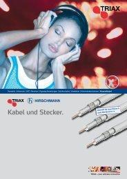 Kabel und Stecker. - Wisat