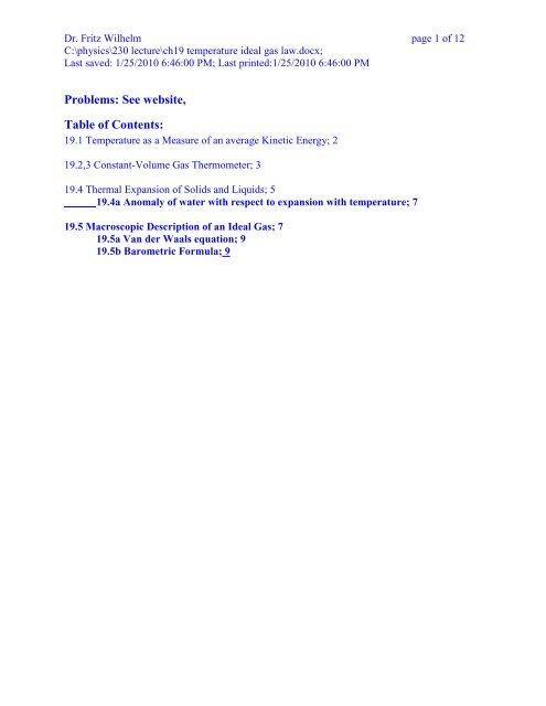230/ch19 temperature ideal gas law pdf