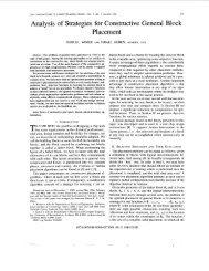 Analysis of strategies for constructive general block ... - IEEE Xplore