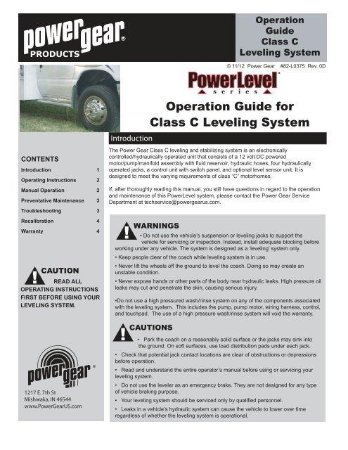 Pg 1 Power Gear