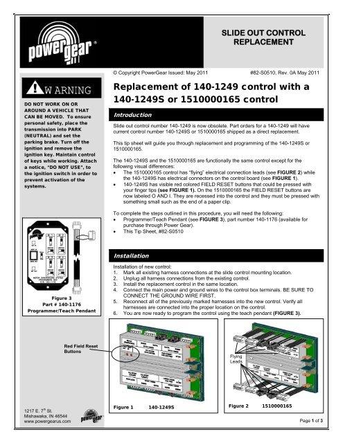 82-S0510 - Power Gear