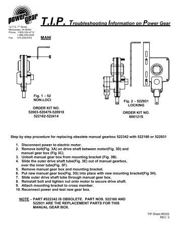System Troubleshooting: Power Gear Hydraulic Leveling System
