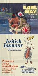 Mit Karl May um die Welt & british humour - Wilhelm-Busch-Museum