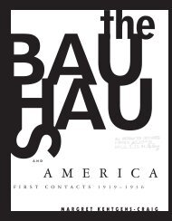 the Bauhaus in America - Monoskop