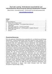Kauf oder Leasing - Ambivalenzen ... - Wissensgesellschaft.org