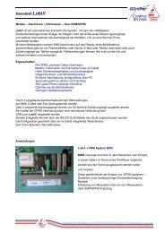 Datenblatt LobiX