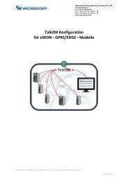 Talk2M Konfiguration für eWON - GPRS/EDGE - Modelle