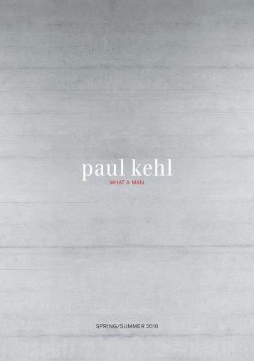 Spring/Summer 2010 - Paul Kehl