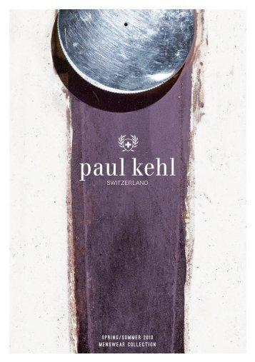 Spring/Summer 2013 menSWeAr COLLeCTiOn - Paul Kehl
