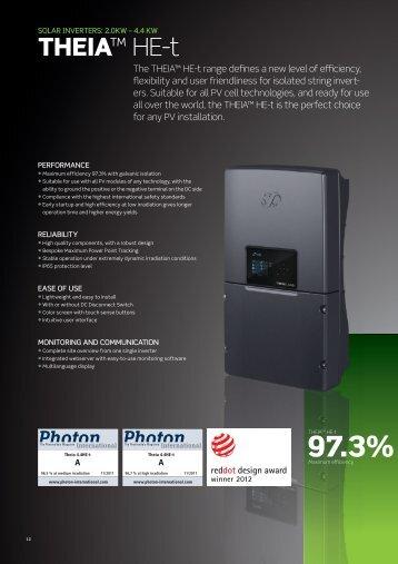 THEIA™ HE-t - Solar360