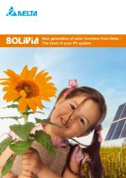 New generation of solar inverters from Delta - The heart ... - Solar360