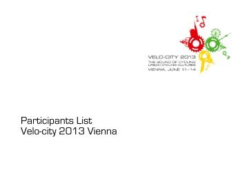 Participants_List_17 06 2013 - Velo City