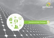 360Projects Brochure 2012 - Solar360