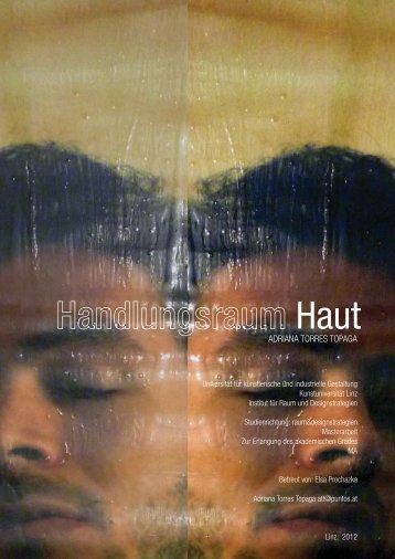 "Raum Installation ""Handlungsraum Haut"" - adriana torres topaga"