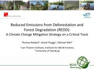Reduced Emissions from Deforestation and Forest Degradation ...
