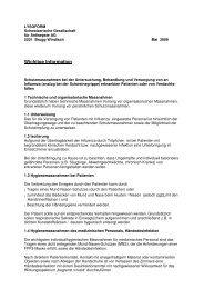 Wichtige Information - Lysoform.ch