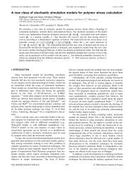 A new class of stochastic simulation models for ... - ETH Zürich