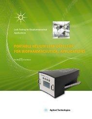 portable helium leak detector for biopharmaceutical ... - AJVS.com